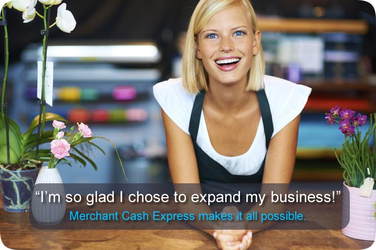 Merchant Advances help business